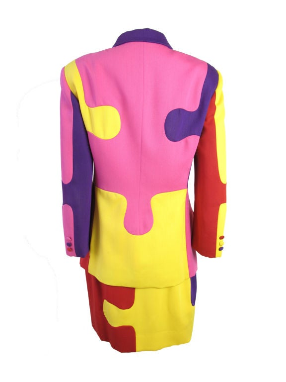 Women's MOSCHINO Puzzle Suit