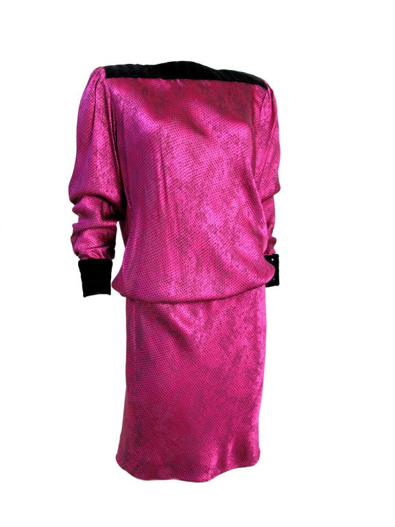 UNGARO Pink Dress 2