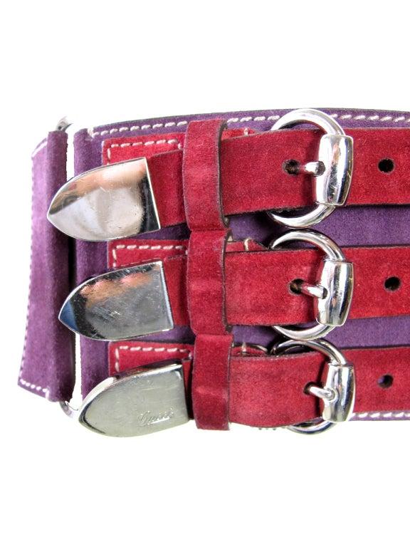 GUCCI Suede Waist Belt image 2