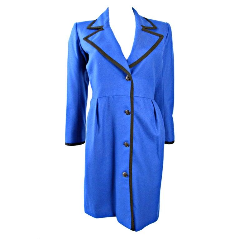 1980s Yves Saint Laurent Coat - small For Sale