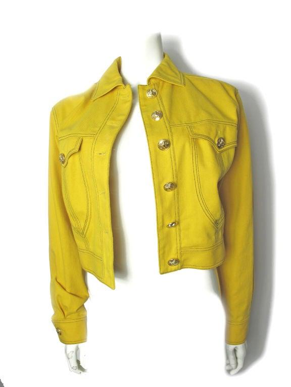 Versace Couture Denim Jacket 2