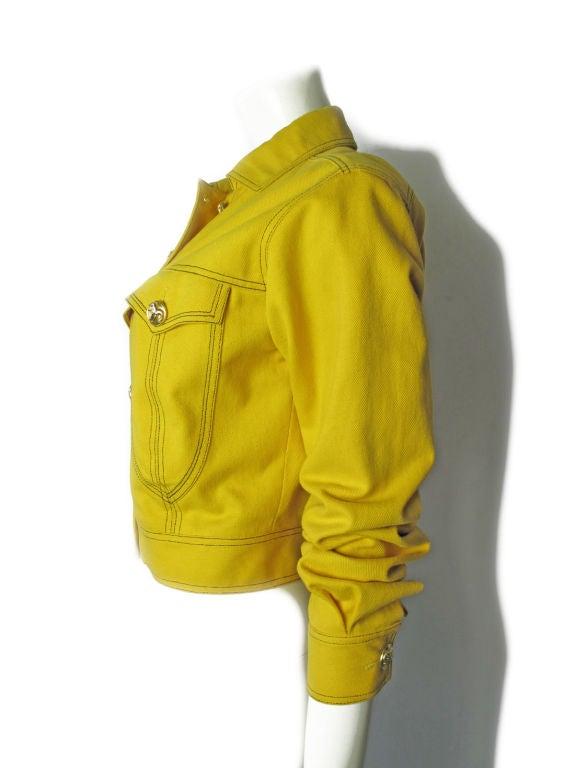 Versace Couture Denim Jacket 4