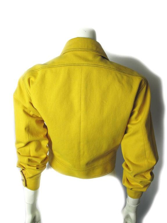 Versace Couture Denim Jacket 5