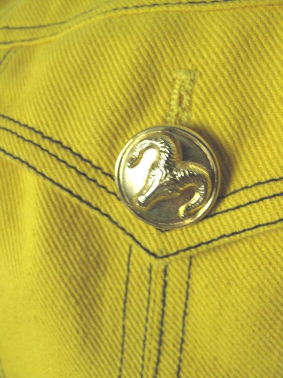 Versace Couture Denim Jacket 6