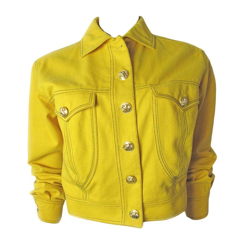 Versace Couture Denim Jacket 1