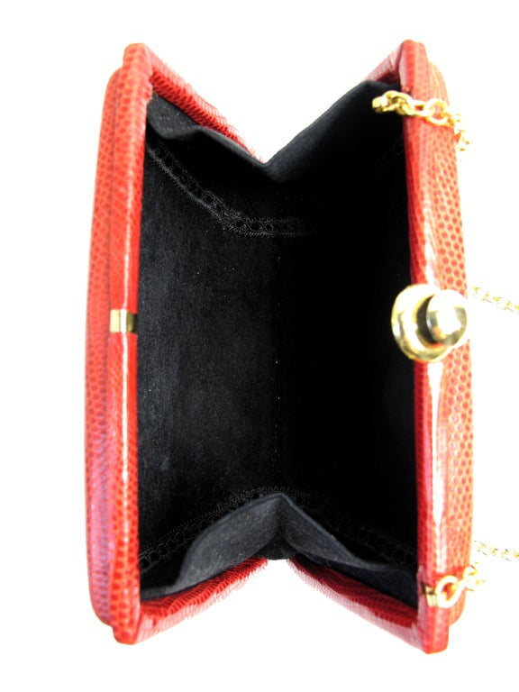 LIZARD Shoulder bag with chain 4