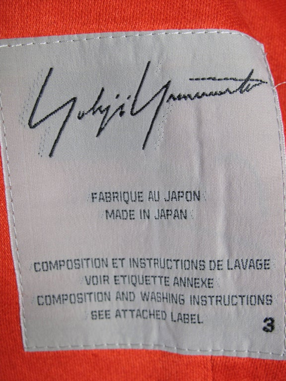 Yohji Yamamoto Asymmetrical Blazer 4