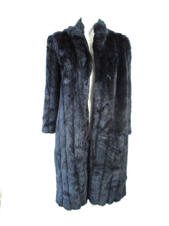 neiman marcus fake fur at 1stdibs. Black Bedroom Furniture Sets. Home Design Ideas
