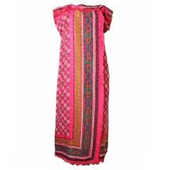 ANDREA ODICINI Silk Gown