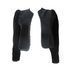 Yves Saint Laurent Rive Gauche Velvet  Jacket