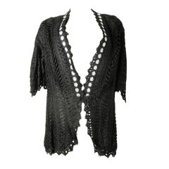 Bonwit Teller Lace Jacket Circa 1900