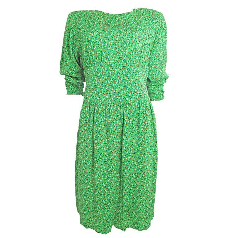 VALENTINO Silk Dress 1