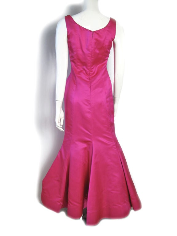 Scaasi Pink Ballgown Sale 3