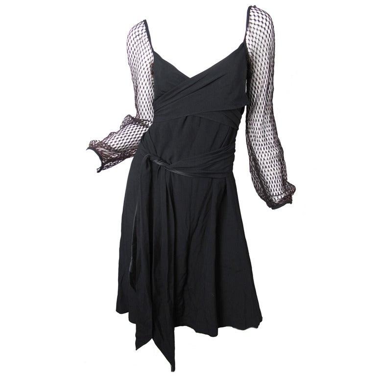 1980s Giorgio Sant Angelo Dress