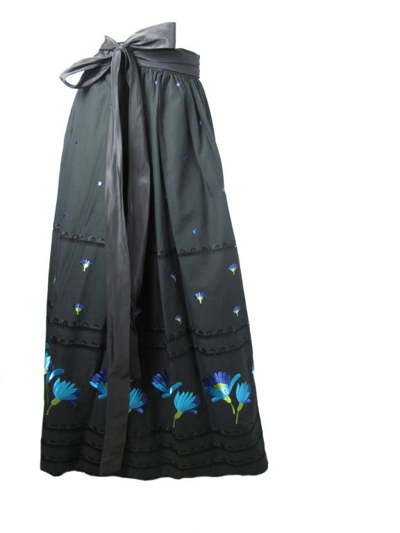 1960s Adolfo peasant  skirt 2
