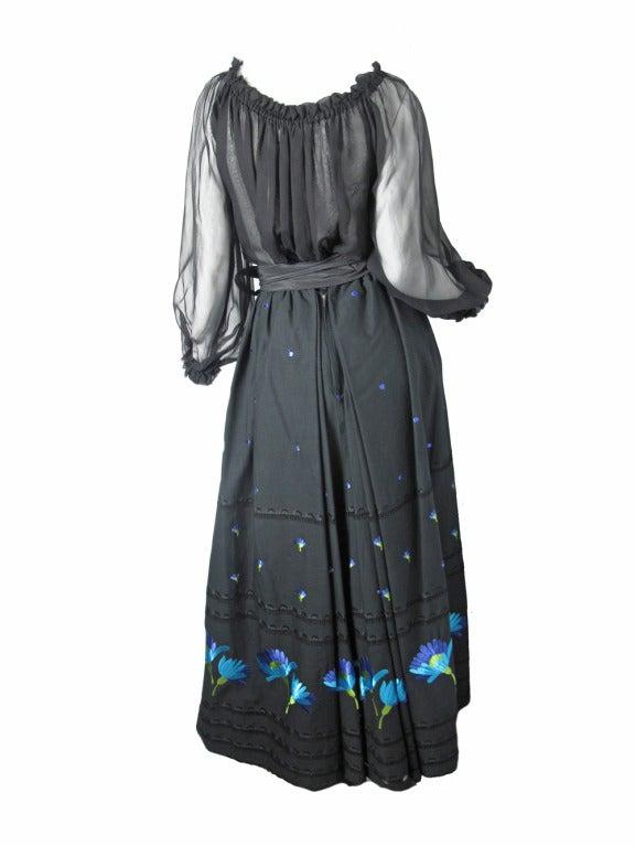 1960s Adolfo peasant  skirt 4