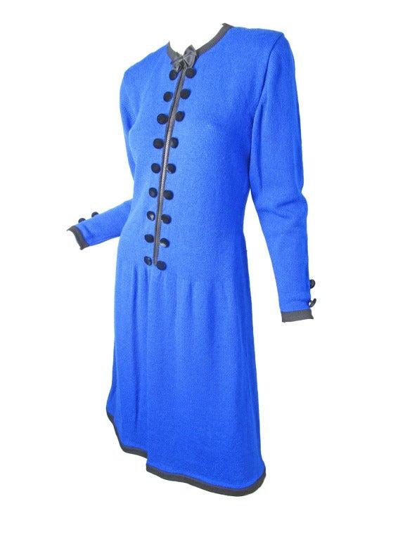 1970s Adolfo knit zipper dress - sale 3