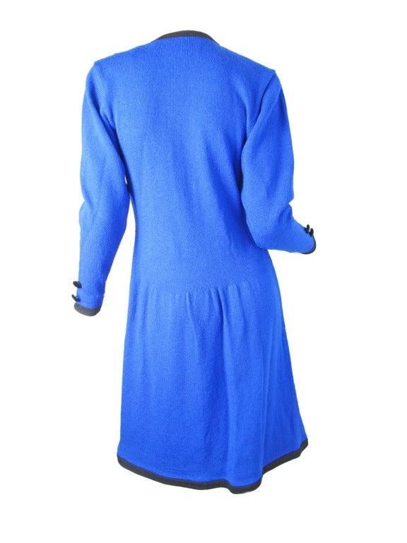 1970s Adolfo knit zipper dress - sale 4