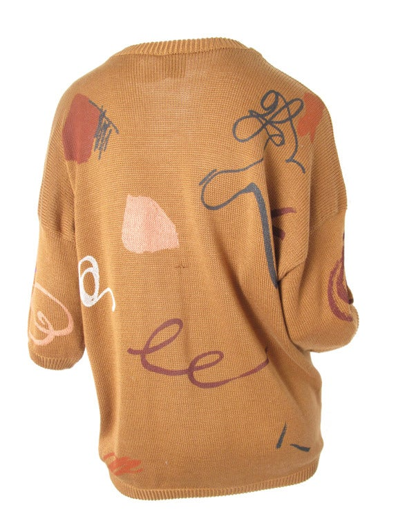 Krizia panther sweater 2