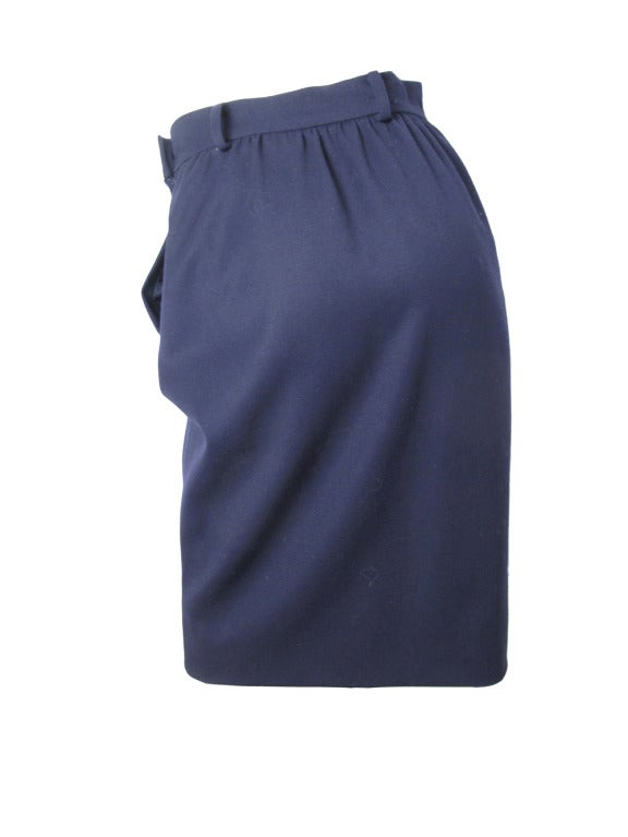 Valentino navy sailor skirt 4