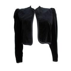 Yves Saint Laurent Velvet Bolero