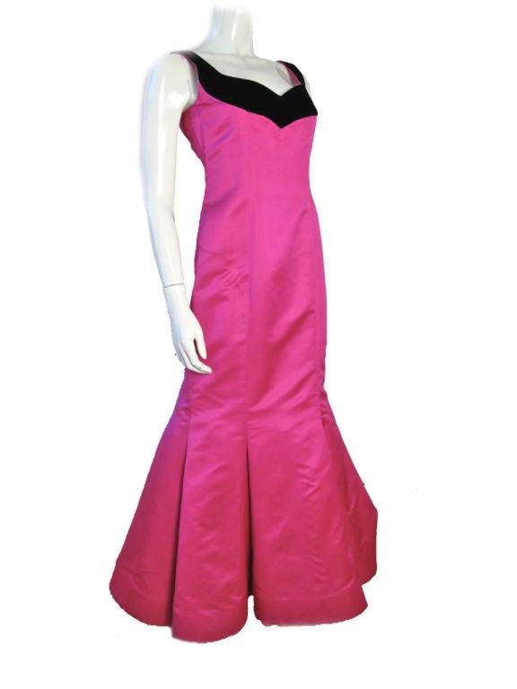 Scaasi Pink Ballgown Sale 6