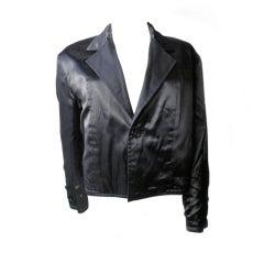 Yohji Yamamoto Satin Jacket