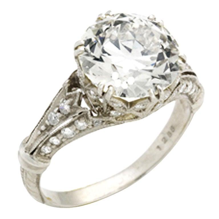 beautiful platinum ring at 1stdibs