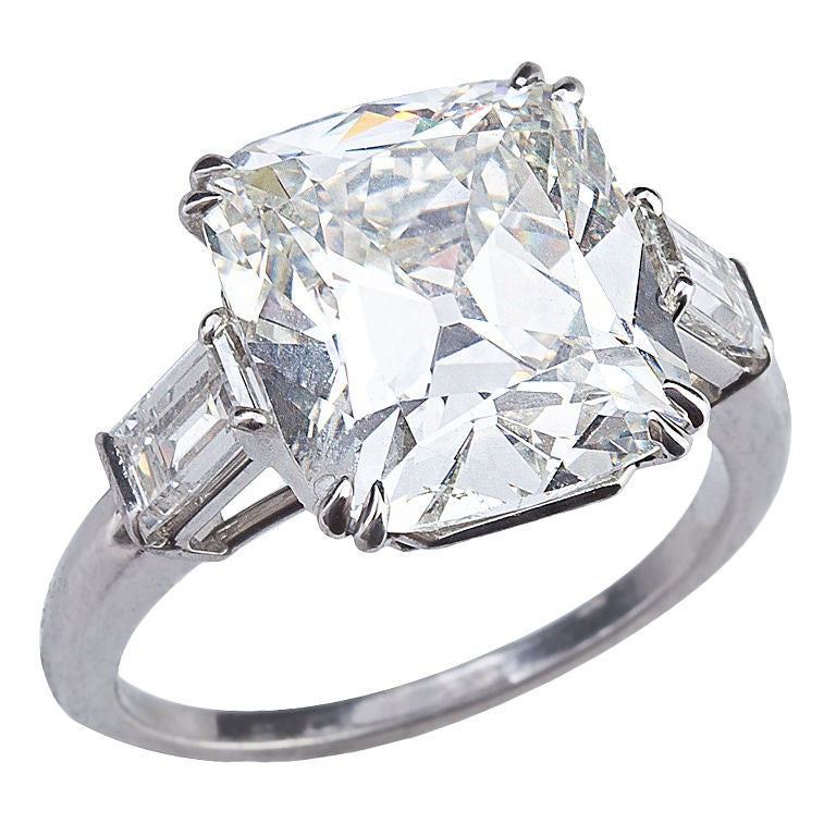 Cushion Cut Diamond Cushion Cut Diamond Solitaire Rings