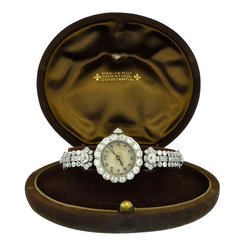 A VACHERON CONSTANTIN Ladies Watch at 1stdibs