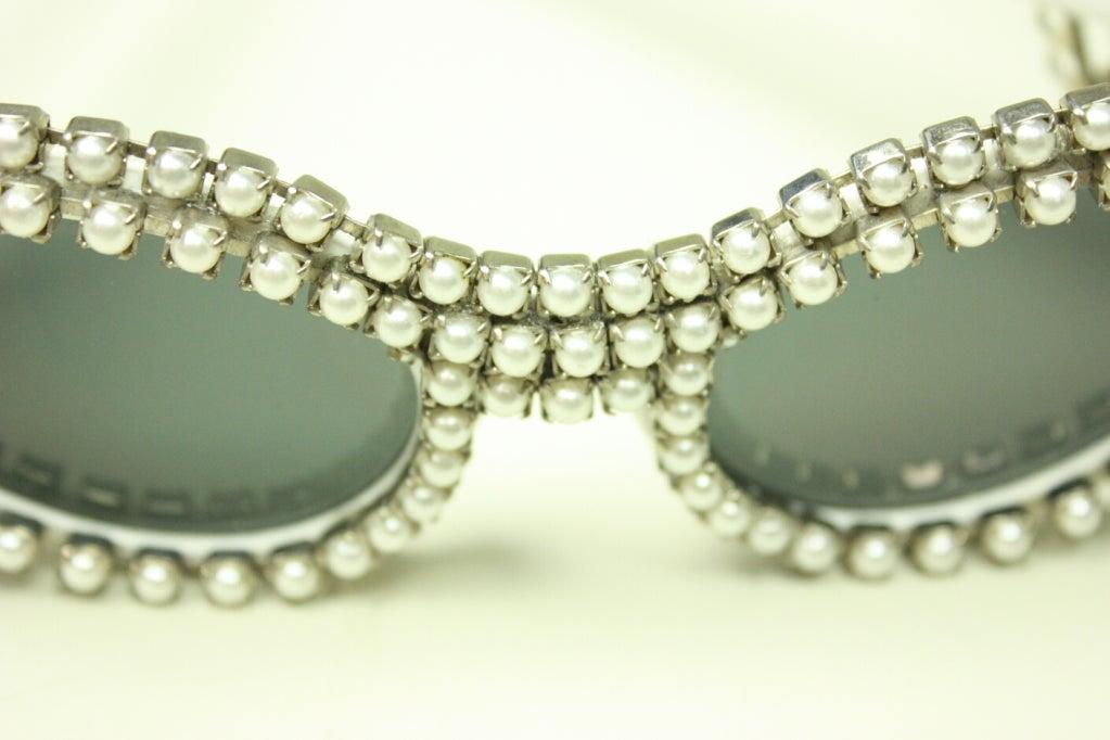 Women's Mecura NYC Cat Eye Sunglasses For Sale