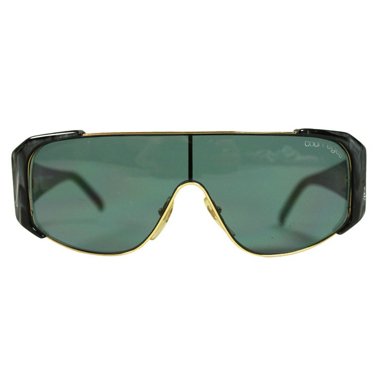 1980's Courrèges Deadstock Sunglasses at 1stdibs