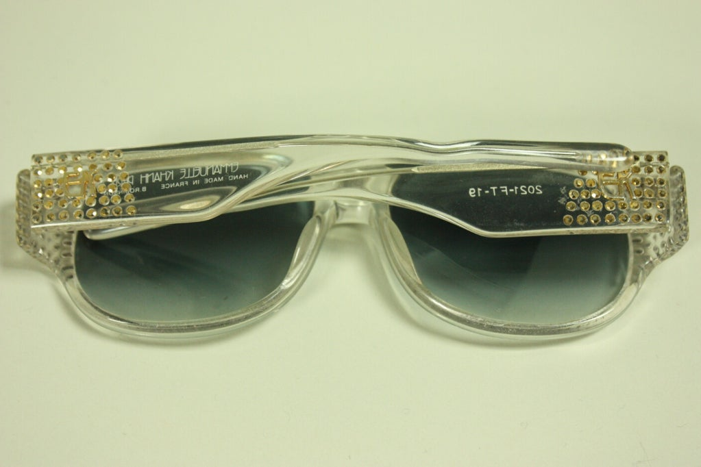 1980's Emmanuel Khanh Sunglasses 5