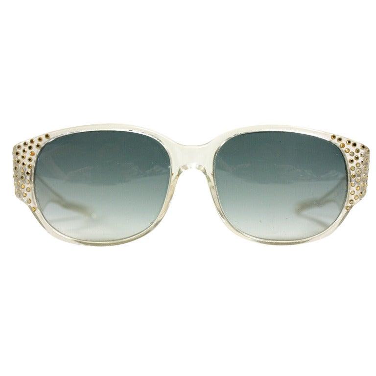 1980's Emmanuel Khanh Sunglasses 1