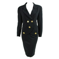 1990's Chanel Dress with Faux Blazer Styling