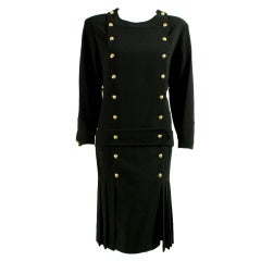 1990's Chanel Dress with 1920's Styling