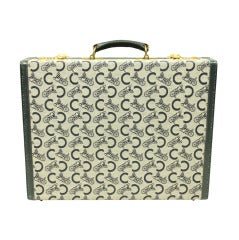 1970's Celine Monogrammed Suitcase