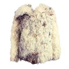 1970's Revillon Curly Lamb Jacket