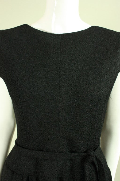Norman Norell Little Black Dress, 1960s  For Sale 1