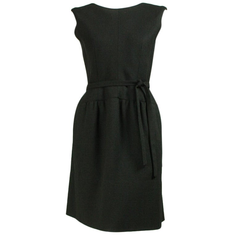 Norman Norell Little Black Dress, 1960s  For Sale