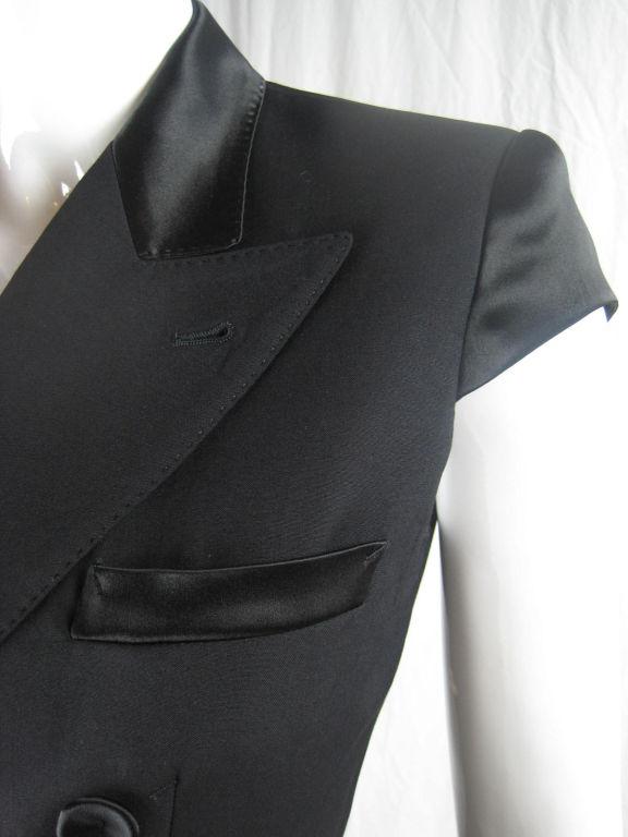Jean Paul Gaultier Blazer with Satin Details 4