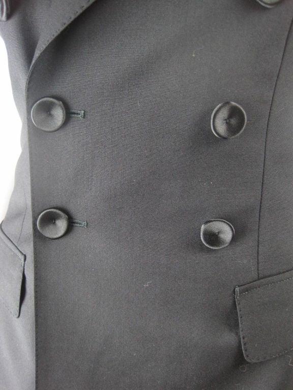 Jean Paul Gaultier Blazer with Satin Details 5