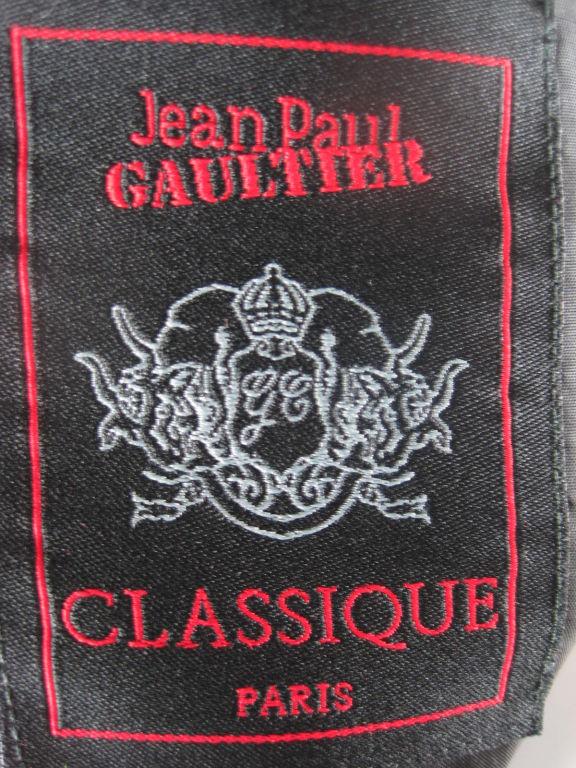 Jean Paul Gaultier Blazer with Satin Details 6
