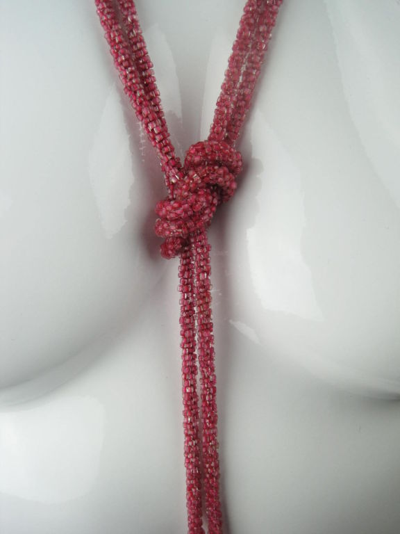 1920's Extra Long Sautoir Necklace 3