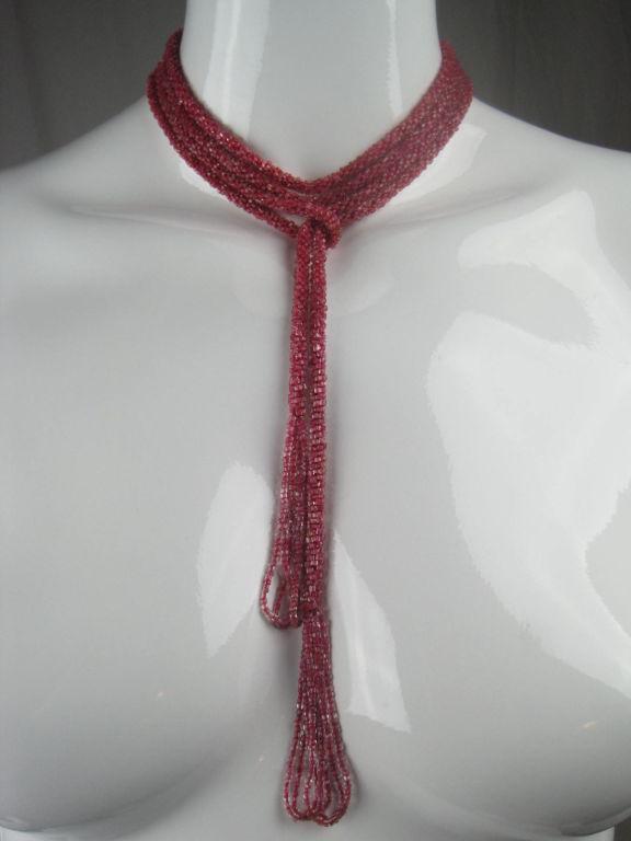 1920's Extra Long Sautoir Necklace 5