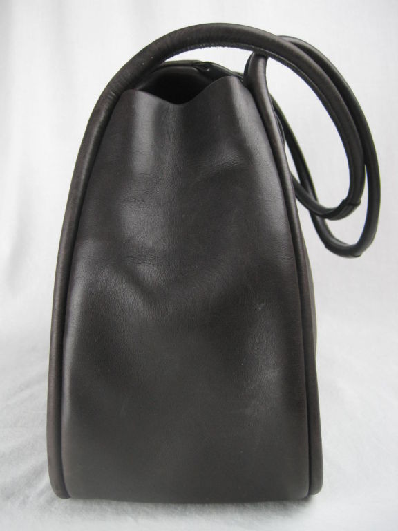 Lalique Leather Tote At 1stdibs