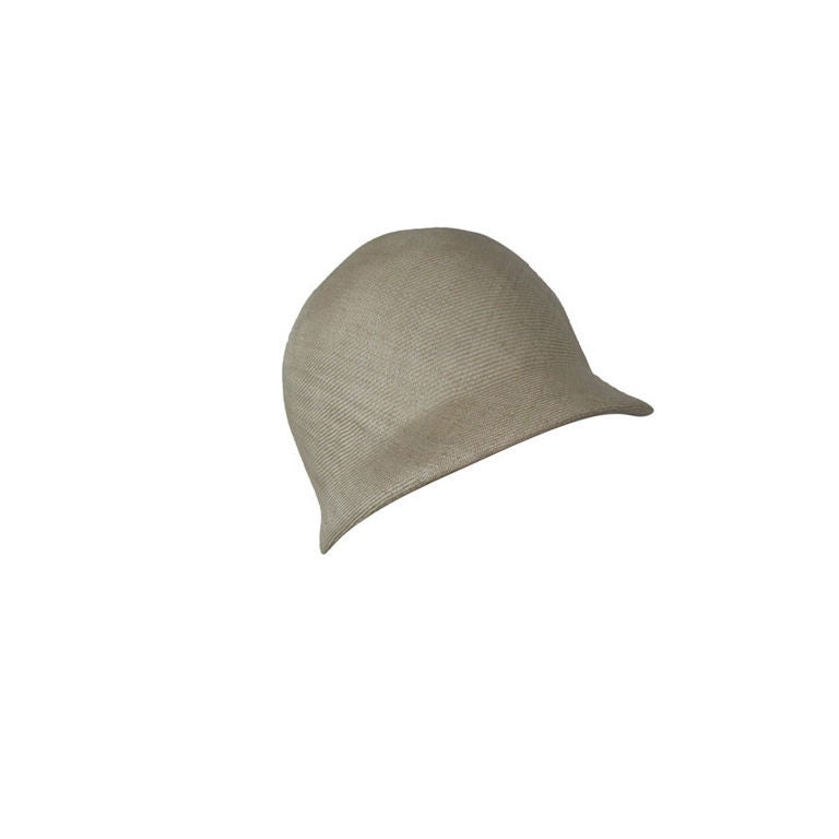 Manuel Pertegaz Numbered 1960's Straw Hat