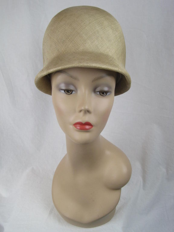 Manuel Pertegaz Numbered 1960's Straw Hat 2