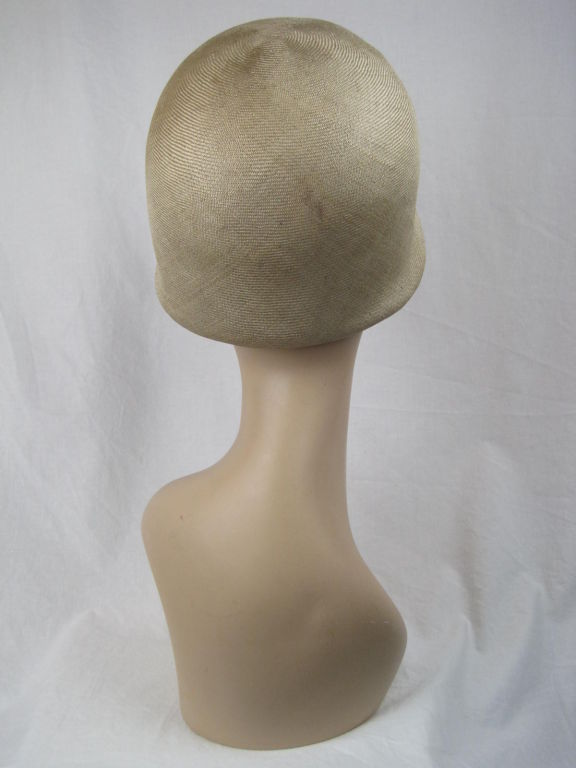 Manuel Pertegaz Numbered 1960's Straw Hat 4