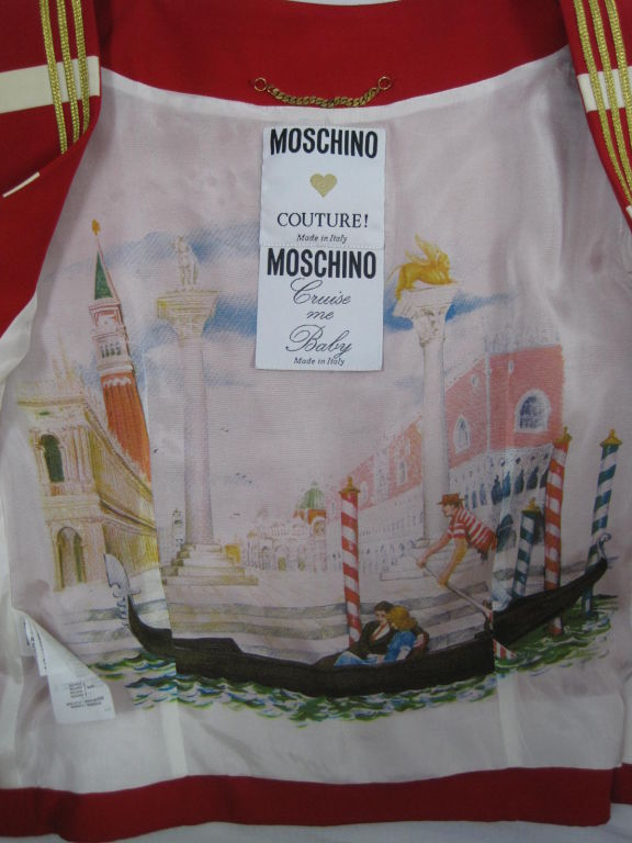 "Moschino Couture ""Cruise Me Baby"" Bodice 7"